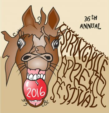 2016 Springville Apple Festival T-Shirt Design