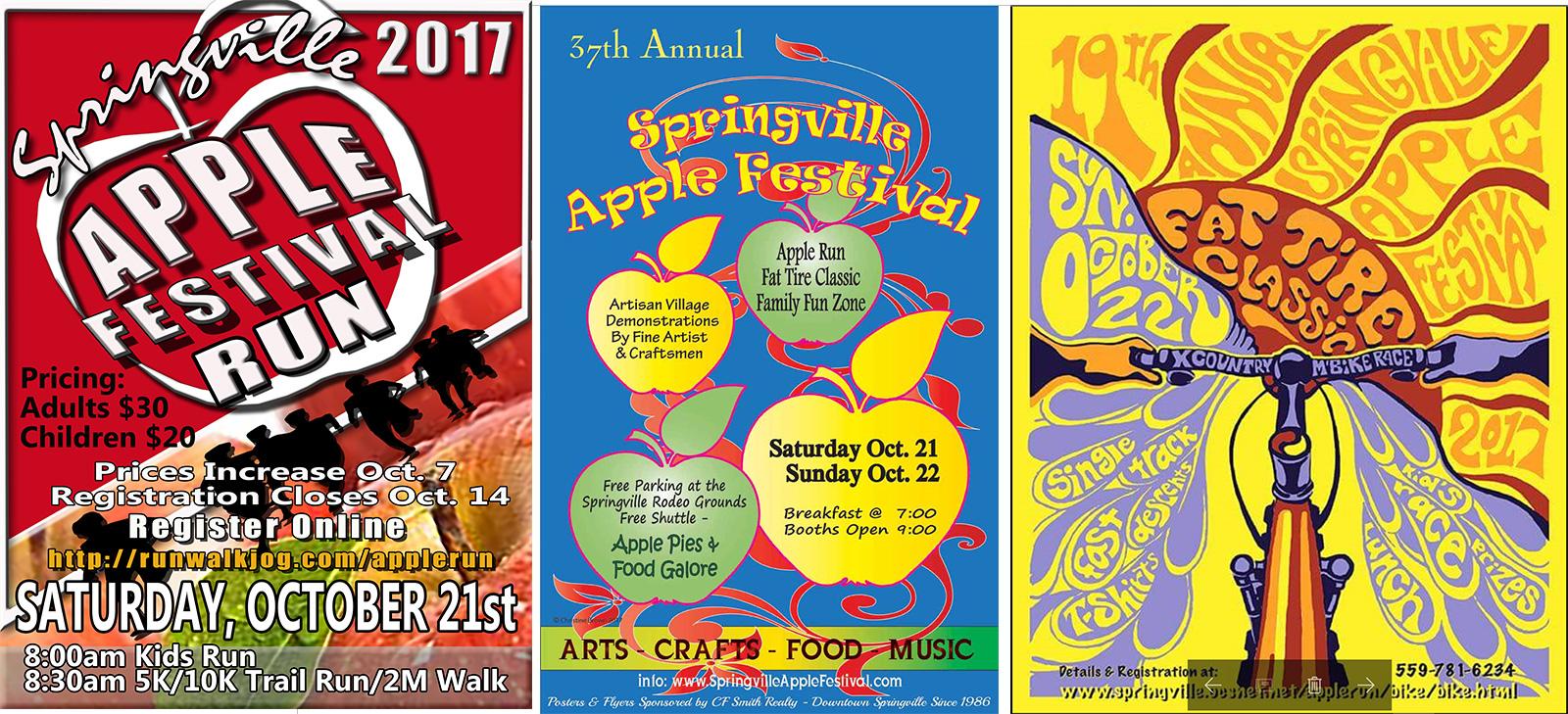 Apple Festival Posters